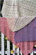 Butterfly Garden Scarf, Shawl, or Throw Pattern