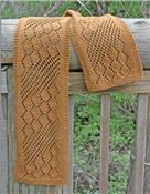 AC-80 Streaming Leaves Lace Scarf Pattern