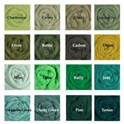 The Greens, 64's Merino Top - Dyed Solid [*as low as $1.95/oz!!]