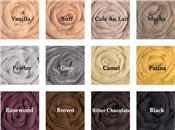 The Neutrals, 64's Merino Top - Dyed Solid [*as low as $1.95/oz!!]