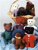 Baby Bears (Knit/Felted)