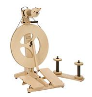 Louet S-95 BEECH Victoria Folding Portable Spinning Wheel