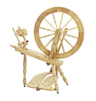 "Schacht-Reeves 24"" Saxony Spinning Wheel"