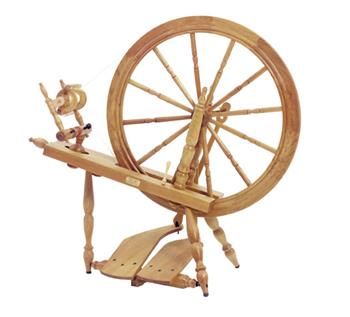 "Schacht-Reeves 30"" Saxony Spinning Wheel"
